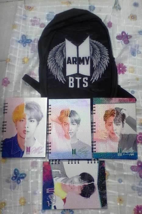 Cuadernos Bts (notebook)