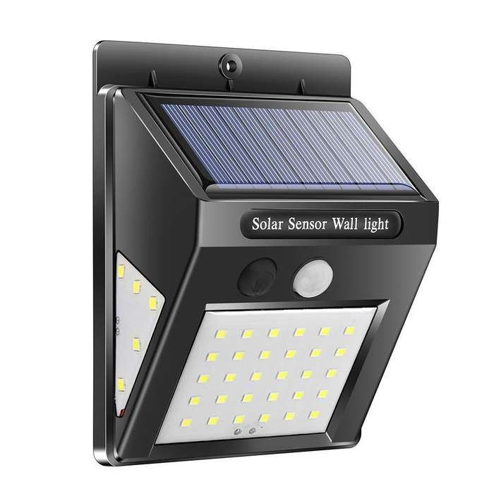 Lampara Solar 40 led Sensor De Movimiento