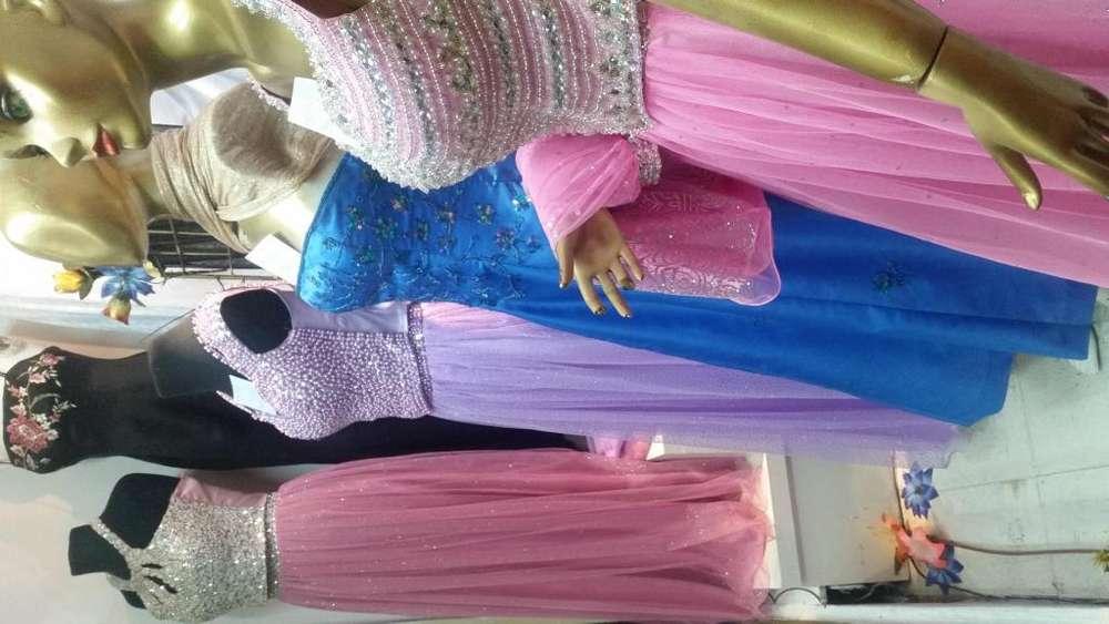 Hermosos Vestidos Exclusivos de Ensueño 3 piezas