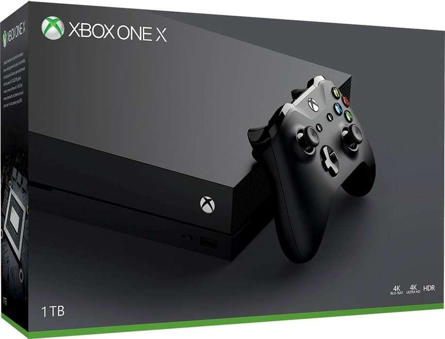 Espectacular Xbox One X!! Incluye juegazos full instalados,incluye game pass , live Gold , suspcricion EA access