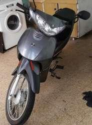 Moto Zanella ZB 110-2018 con 610 km
