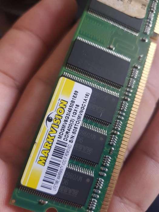 Memoria Ram Ddr1 para Pc 1gb