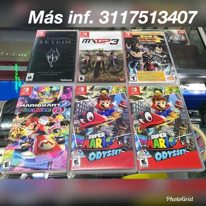 Juegos Usados de Nintendo Switch