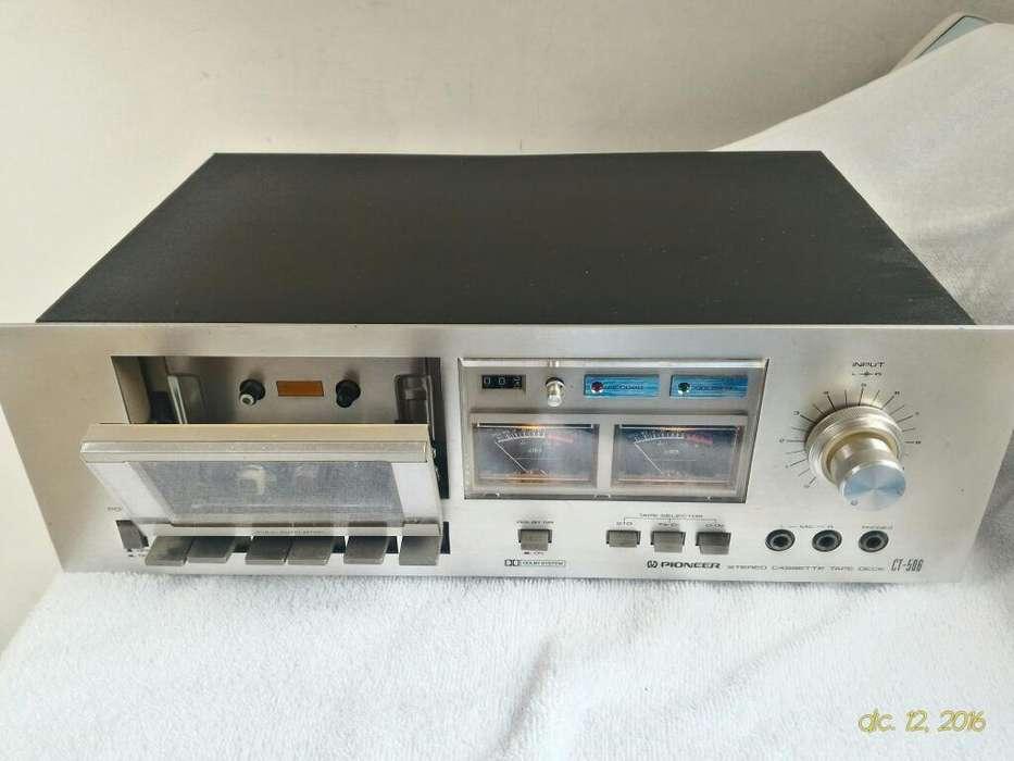 Deck Pioneer Cassette