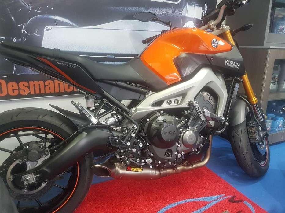 Yamaha Mt09 Sp 2015 Flamante
