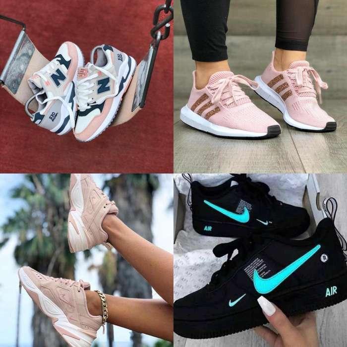 tennis zapatillas Dama y Caballero