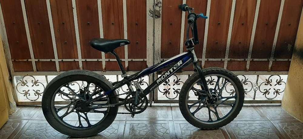 Vendo <strong>bicicleta</strong> Monter Deportiva