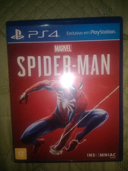 Juego Ps4 Spiderman