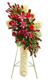 Ventas Online Arreglos Floral En Cruz Para Velorio Lima
