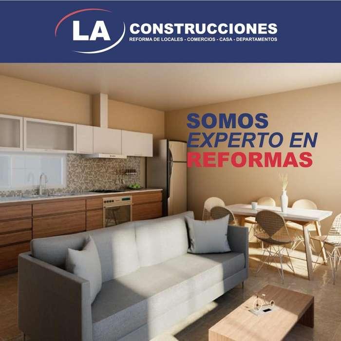 Reformas de locales, casas y departamentos