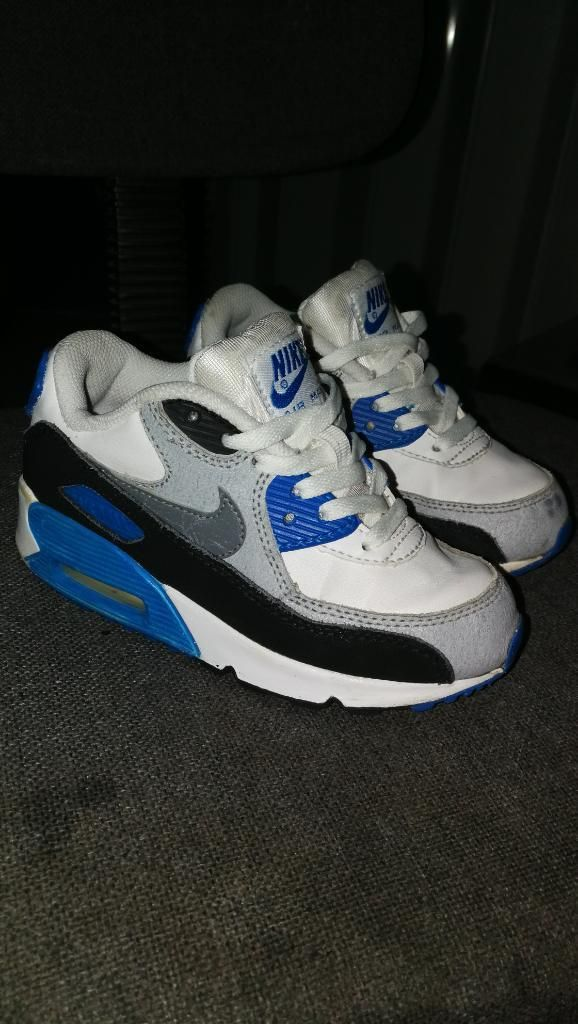 Tenis Nike Air Max 90 Essential Niño 11c Cartago
