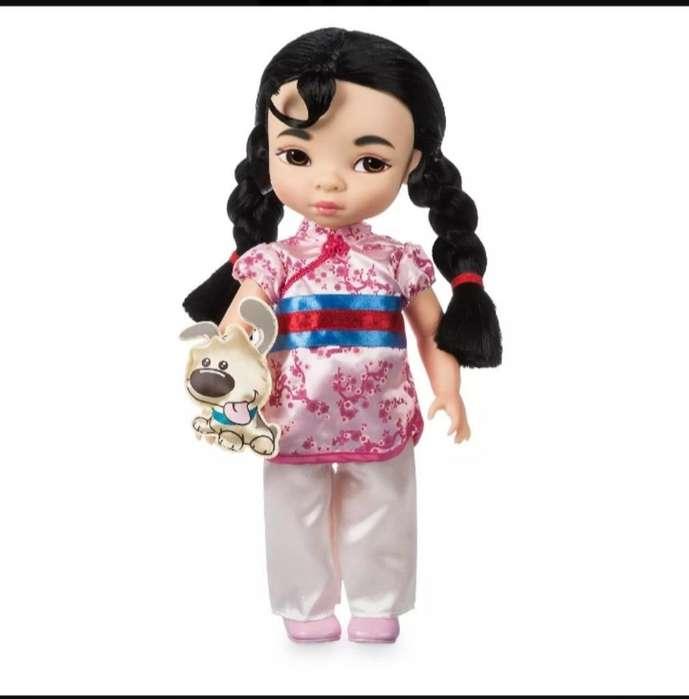 Princesa Mulan Animator