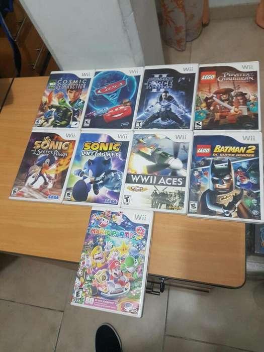 Juegos Nintendo Wii Completos