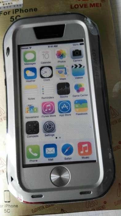 Estuches Aluminio Love Mei iPhone 6 Plus.