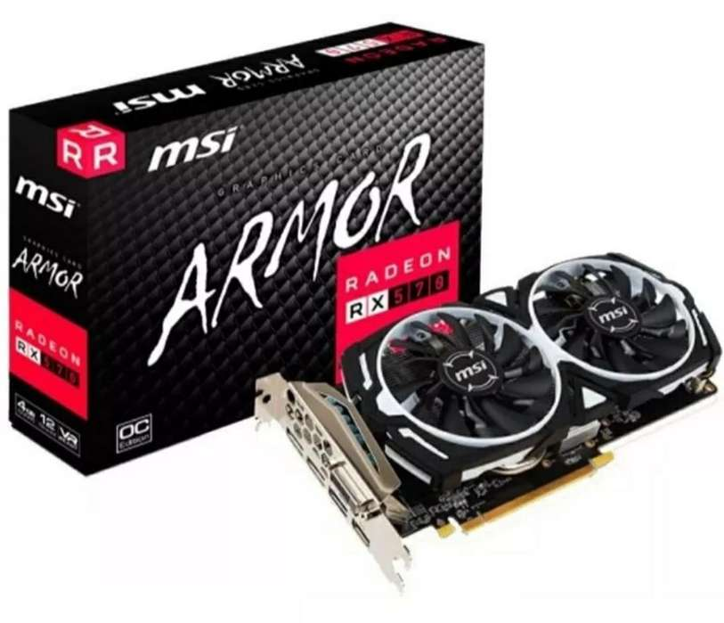 Placa de Video Radeon 570 4gb Msi