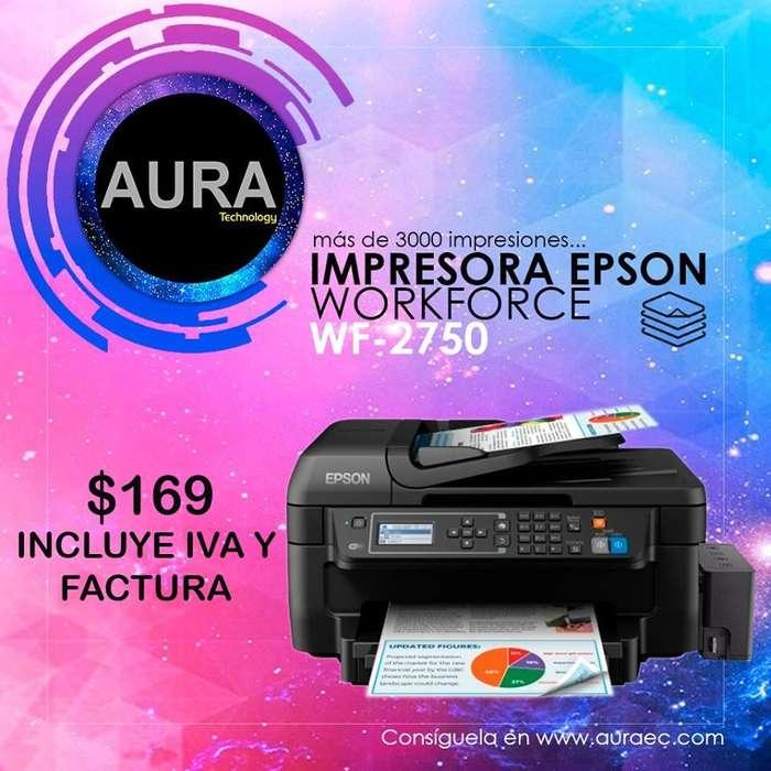 Impresora Epson Wf2750- Et4550 wifiduplexadf