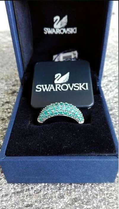 Anillo original de cristales Swarovski, precio de oportunidad.