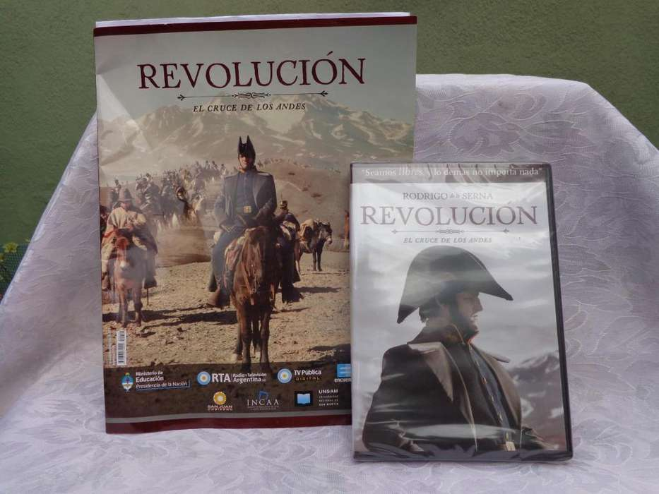 VIDEO Y REVISTA DE EL CRUCE DE LOS ANDES - REVOLUCION