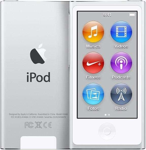 <strong>ipod</strong> nano 7 gris 1 dia de uso, con accesorios