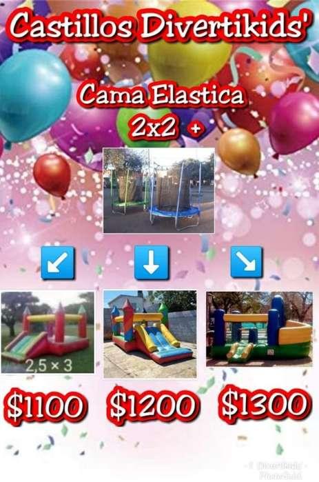 Castillos Cama Elastica