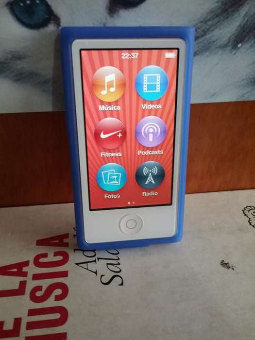 <strong>ipod</strong> Nano 7 Generacion 16 Gb Bluethoot