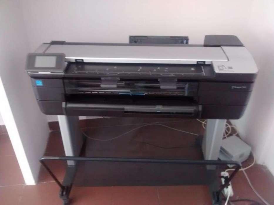 Plotter Hp Designjet T830 Multifuncion 61cm Copia Y Escanea