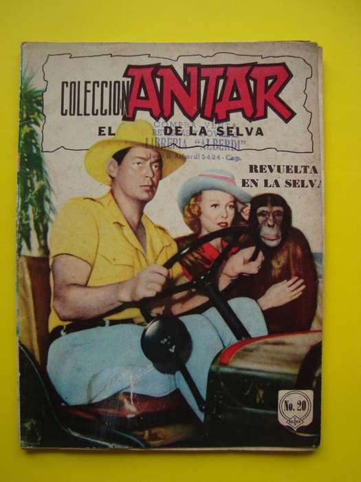 Revista mejicana de Colección ANTAR el rey de la selva nº 29