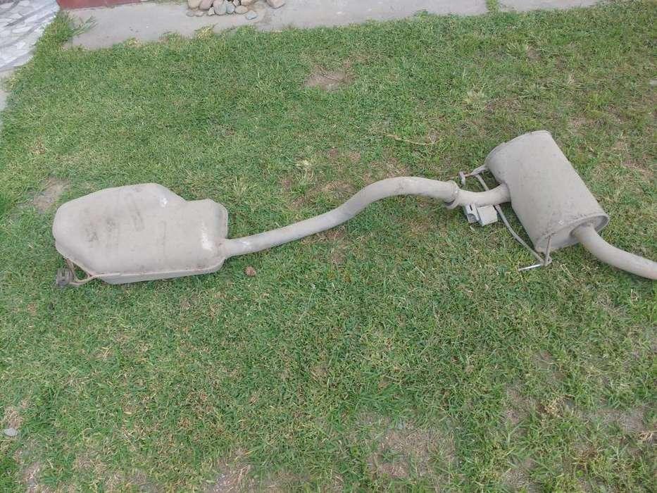 Caño de escape Renault Laguna 1999 diésel