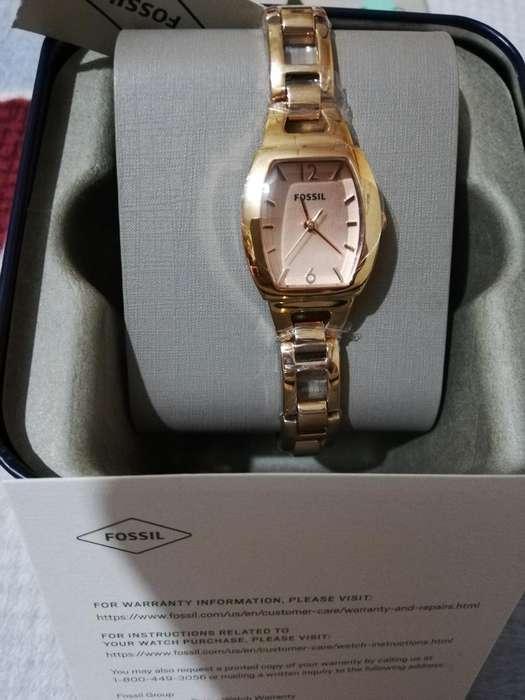 Reloj Fossil Dama <strong>oro</strong> Rosado