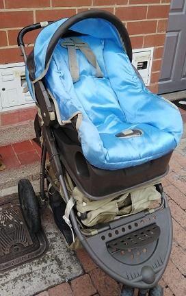 Coche con Silla para Carro para bebe