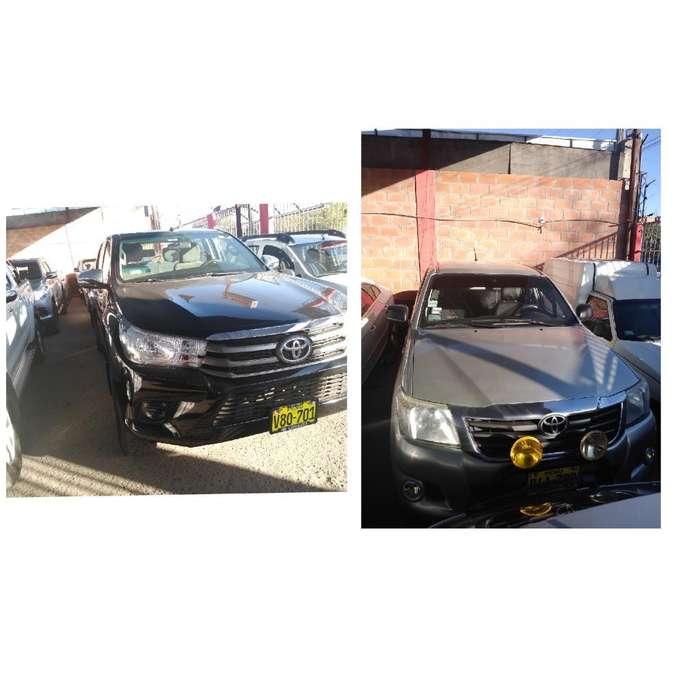 36416a36a Toyota Hilux 2016 - 50000 km. Destacado. Toyota Hilux 2016 - 50000 km. Auto  usado en Arequipa
