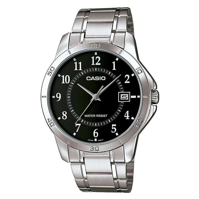 OCASIÓN REMATO: Reloj Casio Hombre Acero Plateado Inoxidable