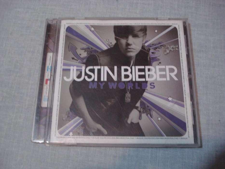 Cd Original de Justin Bieber (Detalle)