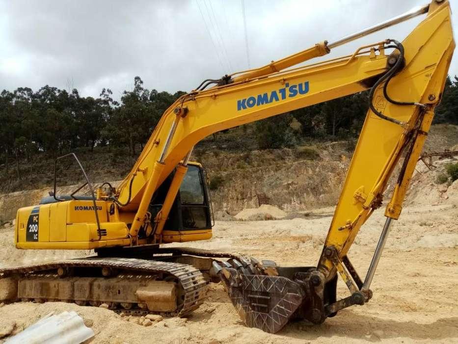 Retro Excavadora Komatsu Pc 200-6 (2000)