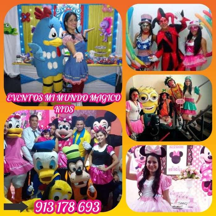 show infantil MI MUNDO MAGICO KIDS