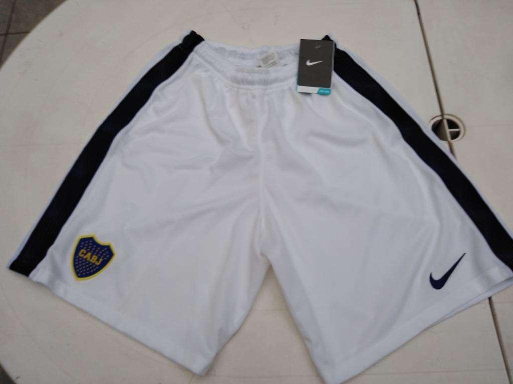 Shorts Boca Juniors Talles S Y Xxl