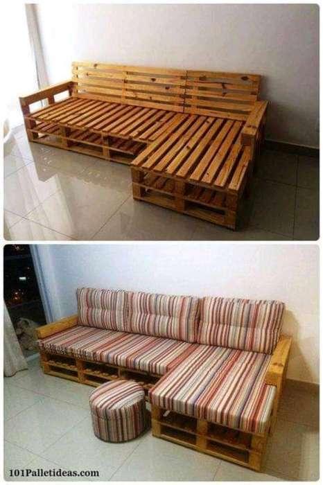 Tecmader Ecológico Muebles en Estibas