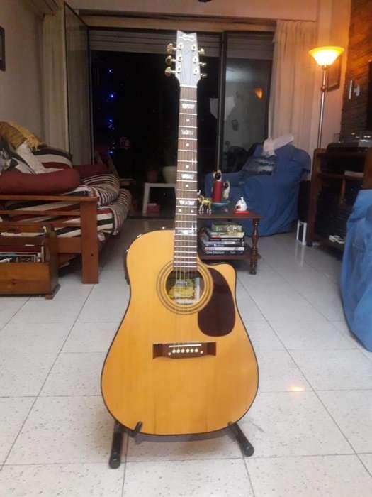 Guitarra Electroac. Gracia, sin Uso Nva