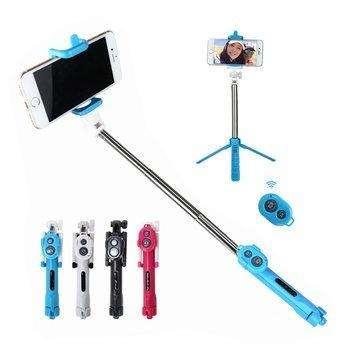 Baston Monopod Selfie Stick Trípode Control Bluethoo