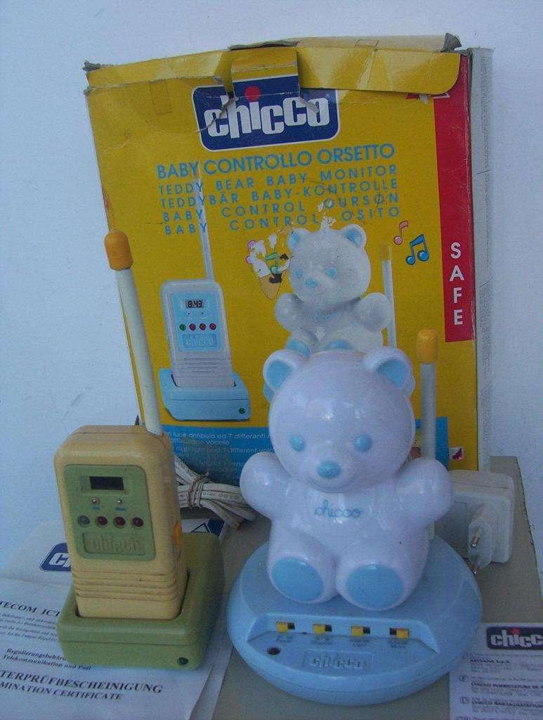 BABY CALL CONTROL CHICCO OSITO NUEVO C/CAJA Y MANUAL MADE IN ITALY BEBES
