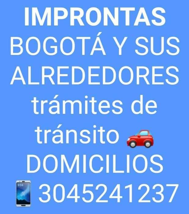 Improntas Bogotá Domicilios