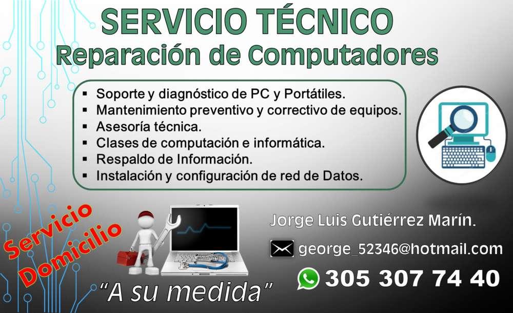 Servicio Técnico: Reparación de PC y Portatiles DOMICILIO Tel: 305 307 74 40