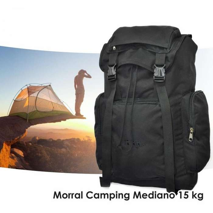 Morral Camping Mediano 15 kg