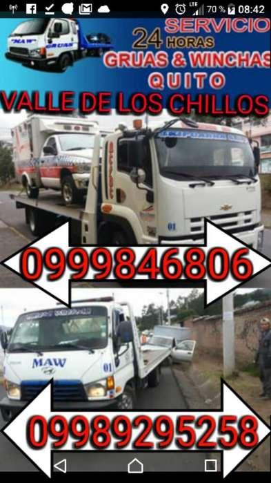 Servicio de Gruas Y Wincha Quito Y Valle