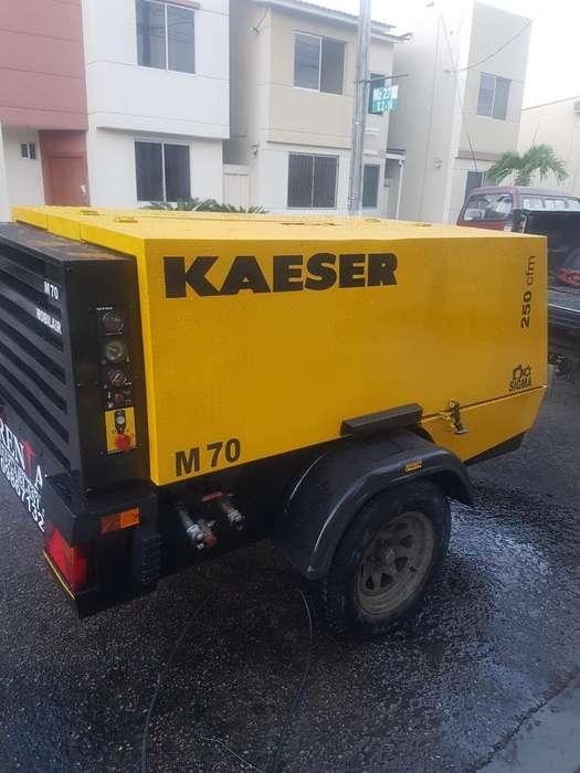Compresor Kaeser 250 Martillos Alquiler