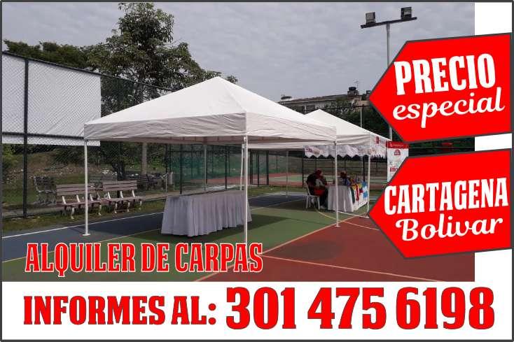 ALQUILER DE CARPAS PARA EVENTOS EMPRESARIALES, SOCIALES y.CORPORATIVOS 301 4756198