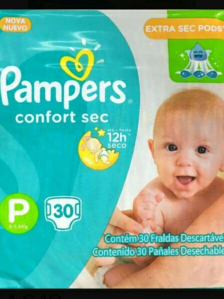 Oferta X2 Paq Pañales Pampers Confort