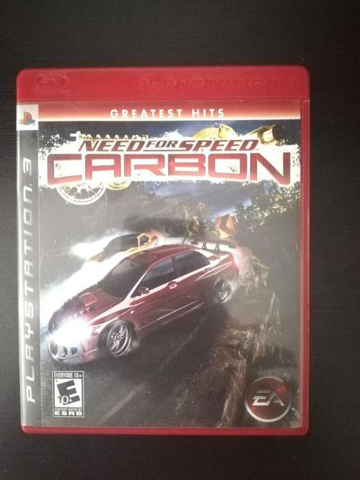 Need For Speed Carbon Play 3 Ps3 Cambio o Vendo