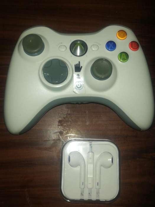 Palanca Xbox 360 Y Airpods Originales
