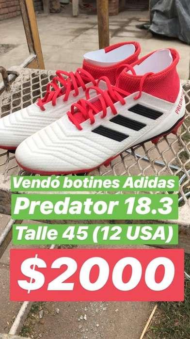 Botines Adidas Predator 18.3
